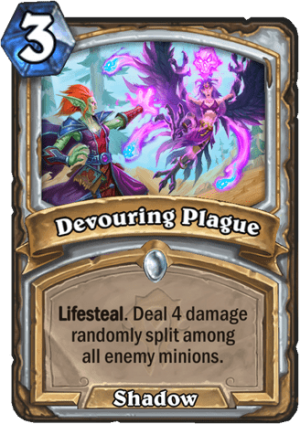 Devouring Plague Card