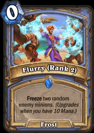 Flurry (Rank 2) Card