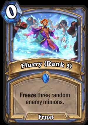 Flurry (Rank 3) Card
