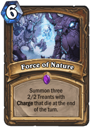 Force of Nature Card