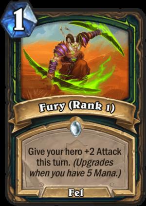 Fury (Rank 1) Card