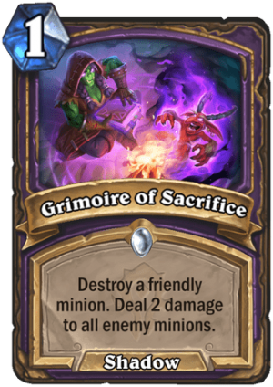 Grimoire of Sacrifice Card