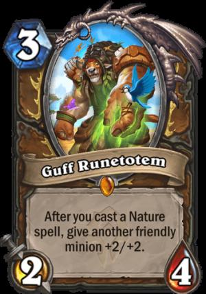 Guff Runetotem Card