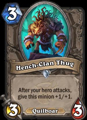 Hench-Clan Thug Card