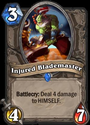 Injured Blademaster Card