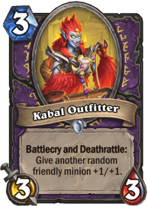 Kabal Outfitter Card