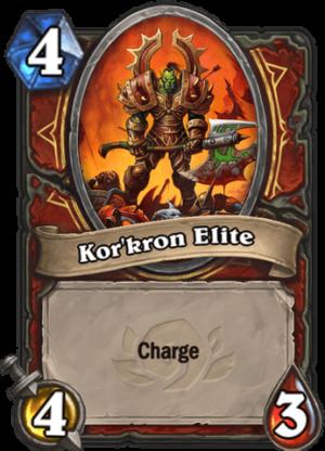Kor'kron Elite Card