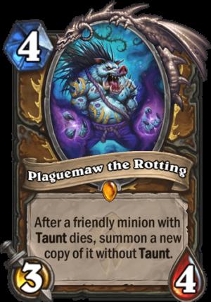Plaguemaw the Rotting Card