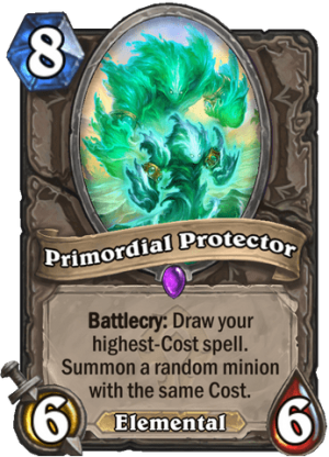 Primordial Protector Card