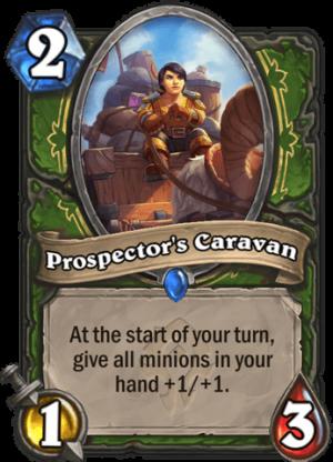 Prospector's Caravan Card