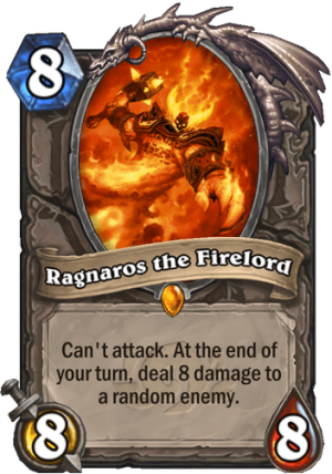 Ragnaros the Firelord Card