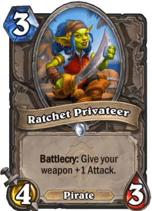 Ratchet Privateer Card