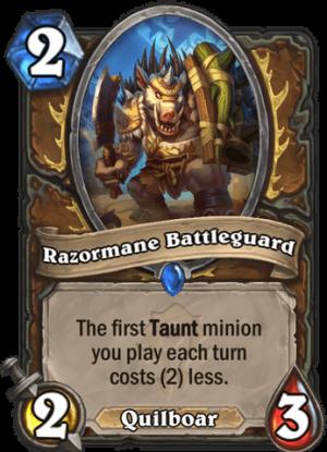 Razormane Battleguard Card