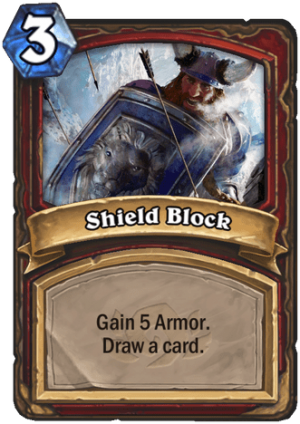 Shield Block Card