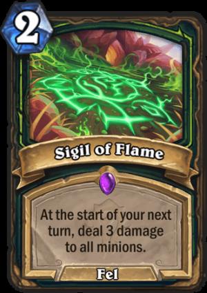 Sigil of Flame Card