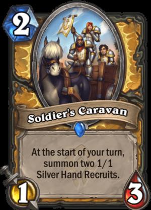 Soldier's Caravan Card