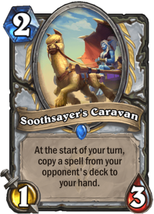Soothsayer's Caravan Card