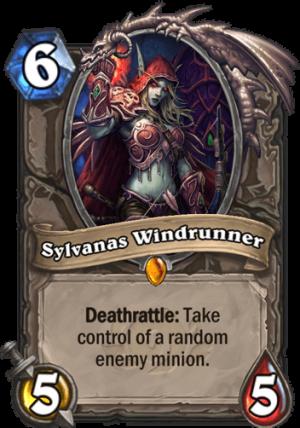 Sylvanas Windrunner Card