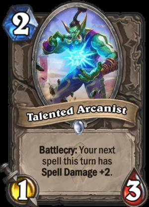 Talented Arcanist Card