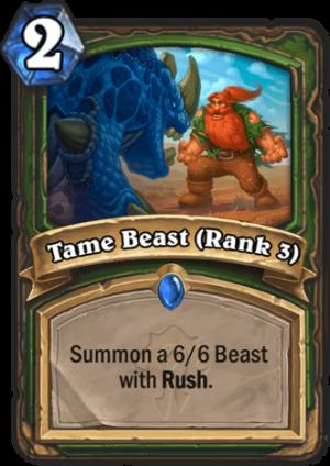 Tame Beast (Rank 3) Card