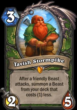 Tavish Stormpike Card