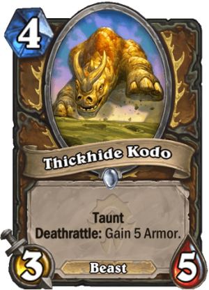 Thickhide Kodo Card