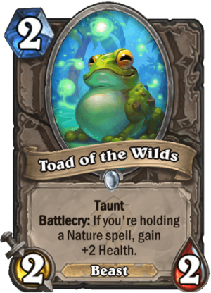 Toad of the Wilds Card