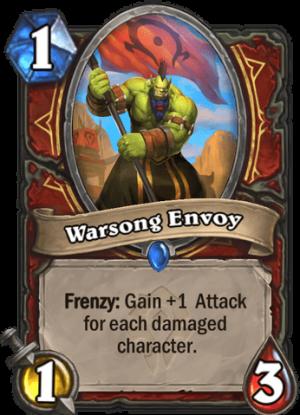 Warsong Envoy Card