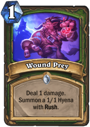 Wound Prey Card