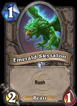 Emerald Skytalon Card
