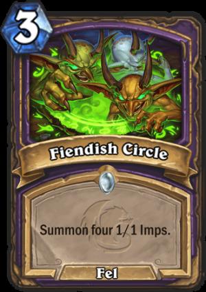 Fiendish Circle Card