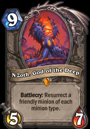N'Zoth, God of the Deep Card