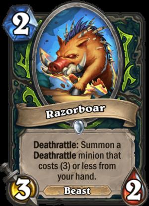 Razorboar Card