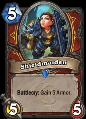 Shieldmaiden Card