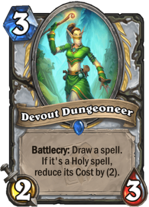 Devout Dungeoneer Card