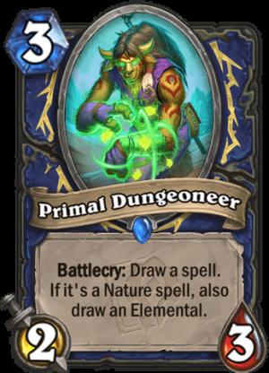 Primal Dungeoneer Card