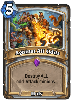 Against All Odds Card