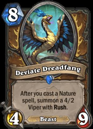 Deviate Dreadfang Card