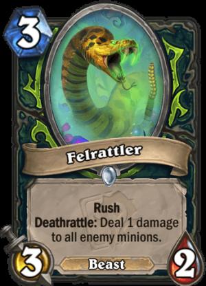 Felrattler Card