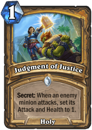 Judgment of Justice Card