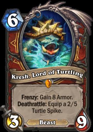 Kresh, Lord of Turtling Card