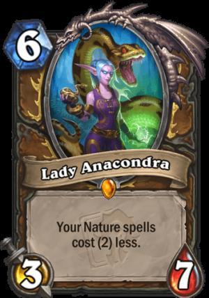 Lady Anacondra Card