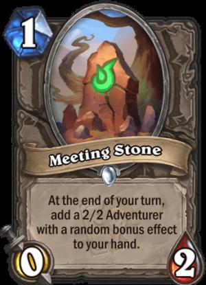 Meeting Stone Card