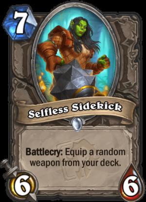 Selfless Sidekick Card