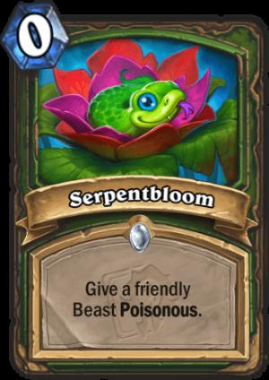 Serpentbloom Card