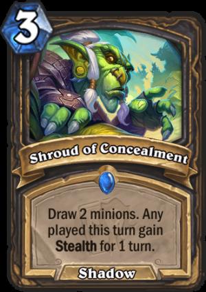 Shroud of Concealment Card