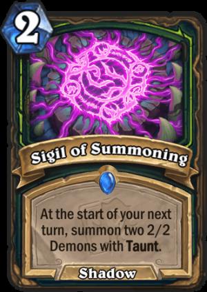 Sigil of Summoning Card