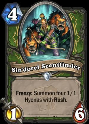 Sin'dorei Scentfinder Card