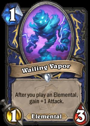 Wailing Vapor Card
