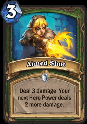 Aimed Shot Card